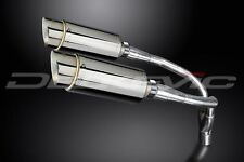 """Delkevic 8"""" Stainless Steel Round Mufflers - Honda 919 - 2002-2007 Exhaust"""