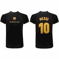Trikot Messi Barcelona Offizielle Fcb Barcelona Weg 2020 2021 Schwarz