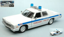Blues Brothers Diecast Model 1/24 1975 Dodge Monaco - Greenlight Collectibles