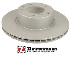 For BMW 525i 535i 530i 525iT GAS Front Vented Disc Brake Rotor Zimmermann