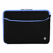 "Premium Black/Blue Laptop Bag Sleeve For 17.3"" Samsung Asus Acer Dell HP Lenovo"