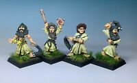 """Games Workshop - WHFB Vintage Empire """"Flagellants"""" x4 - Fully Painted and Based"""