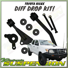 "Toyota Hilux N70 KUN26 Front Direct Bolt In BIG Lift Diff Drop Kit 2"" - 4"" Lift"