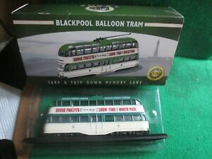 BLACKPOOL BALLOON TRAM (1:76 SCALE) LOT W36 BOXED