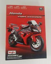 Maisto 1:12 HONDA CBR 1000RR  Motorcycle Assembly Line Metal Model Kit Toy
