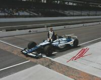 2018 Max Chilton signed Gallagher Chevy Indy 500 Qualifying Indy Car 8x10 Photo