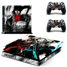 ONE PIECE Monkey D PS4 Skin Vinyl Decal for PS4 Console&Controller Sticker#53