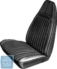 1973 Barracuda / Cuda White Front Bucket Seat Covers - PUI