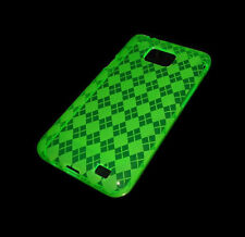 NEW GREEN SOFT PLASTIC SAMSUNG GALAXY S2 II  i9100 CASE SUPER FAST SHIPPING
