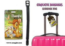 Etiquette bagage / luggage tag - disney bambi 01-006