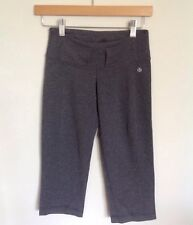 Lululemon crop pants gray 2 tall belt loops