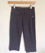 Lululemon crop pants gray 2 tall belt loops