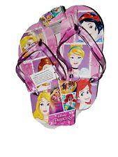 New Disney Princess flip flops sandals shoes Size 13/1 Girls Gift