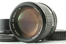 [Exc+4] Canon NEW FD 85mm f/1.8 NFD MF Portrait Lens w/ Hood from Japan #134