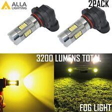 Alla Lighting 9140 9145 LED Fog Light for Ford F-150 F-250 F-350, Golden Yellow