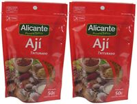 ALICANTE Aji Triturado, 50 gr. - 2 Pack. / Crushed Pepper - 2 Pack.