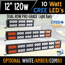 "12"" 120w LED Bar Light - CREE Dual Row - The Most Powerful in the World Today!"