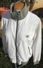 Vintage 90s CADILLAC Columbia White Full Zip Windbreaker Track Jacket Mens Large