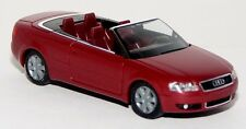 Herpa 033060 - Audi A4 B6 Cabrio rot metallic offen Modell - 1:87 H0
