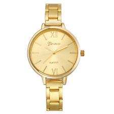 Luxury Women Thin Stainless Steel Band Analog Quartz Wrist Watch Watches