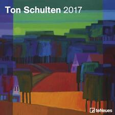 CALENDRIER 2017 - TON SHULTEN - 30 x 30 cm