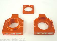 Achsenblöcke KTM SX(F) ab 2013- orange