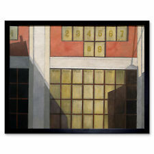 Demuth Business Painting Art Print Framed 12x16