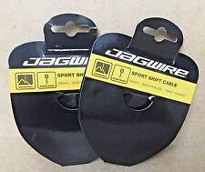 2 Packs Jagwire 2300mm Universal Sport Shift cable SRAM Shimano  New