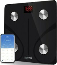 RENPHO Bluetooth Body Fat Scale Smart BMI Scale Digital Bathroom Wireless Weight