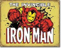 Iron Man - Invincible Metal Tin Sign Wall Art