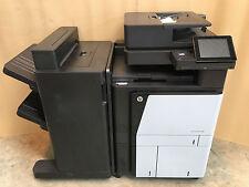 HP LaserJet Enterprise Flow M880Z+ M880 A3 A4 Multifunction + Stapler Stacker