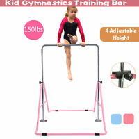 Gymnastics Horizontal Bar Kids Training Bars for Home Expandable Folding Kip