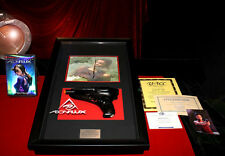 AEON FLUX PROP GUN SOPHIE OKONEDO Signed Autograph DVD COA UACC CHARLIZE THERON