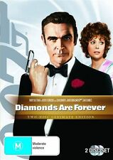 DIAMONDS ARE FOREVER *EXCELLENT CONDITION*  TWO DISC ULTIMATE EDITION