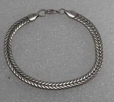 Herring Bone Bracelet Nwot Men'S Designer Silver Plated