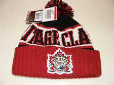 2011 NHL Hertiage Classic Goalie Knit Flames Canadiens