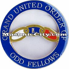 Z-117 Grand United Order of Odd Fellows Auto Emblem IOOF GUOOF Independent