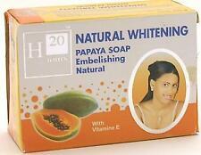 H20 Jours Natural Papaya Beauty Soap 7.9oz (225g) w Vitamin E- NEW!