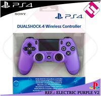 MANDO 100% ORIGINAL SONY PS4 DUALSHOCK COLOR ELECTRIC PURPLE PLAYSTATION 4 LILA