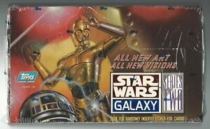 Star Wars Galaxy Series 2 1994 Topps Trading Card Factory Sealed Box of 36 Packs