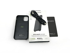 Mophie Juice Pack Access Protective Battery Case for iPhone 11 Pro Black #NO0106