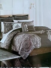 Shalini Twin Duvet Cover Set 2 Piece Includes Standard Sham Charcoal Gray