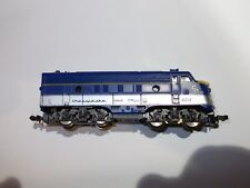 Lima N-SCALE Chesapeake and Ohio diesel locomotive EMD F7