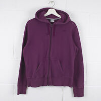 Vintage NIKE Purple Sports Hooded Zip Hood Jacket Size Womens Large /R33099