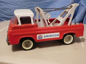 VINTAGE NYLINT-FORD AMERICAN GAS OIL COMPANY EMERGENCY TOW TRUCK-WRECKER-