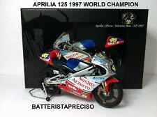 MINICHAMPS VALENTINO ROSSI 1/12 APRILIA RS 125 GP 1997 122970046 WORLD CHAMPION