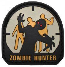 Velcro Patch-Zombie Hunter (goma/Rubber) 3d hora de finalización insignia monstruo
