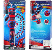 New Spiderman Toy - Kid Children Unisex Electronic Digital Display Wrist Watch