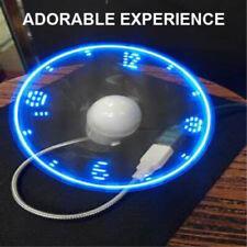 USB Gadget Mini Flexible LED Light Fan