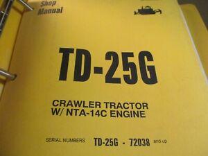 Dresser TD-25G Crawler Tractor Service Manual